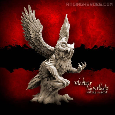 Vladimir the Virtous (Sisters' Mascot - F/SF) - Raging Heroes
