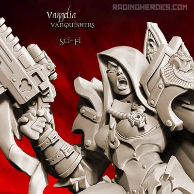 Vanquishers All-Stars - Command Group (SoEM - SF) - Raging Heroes