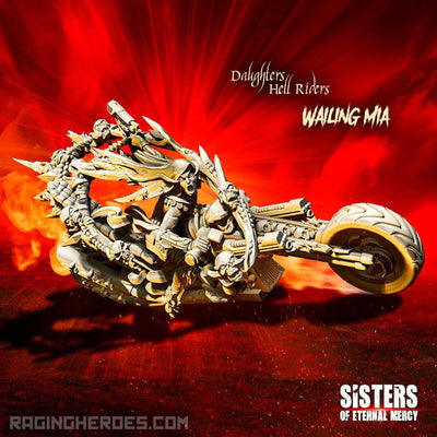 Wailing Mia, Hell Rider Daughter (SoEM - SF) - Raging Heroes