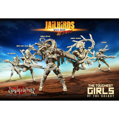 Wild Dogs All-Stars (JB) - Raging Heroes