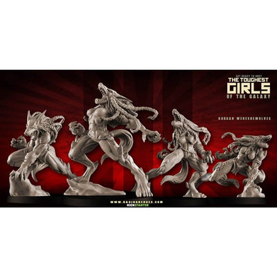 WereSheWolves BOX of 4 (KST)