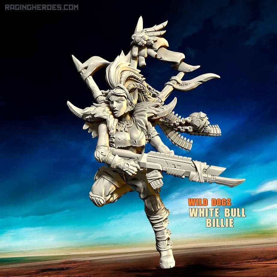 White Bull Billie (WD - JB) - Raging Heroes