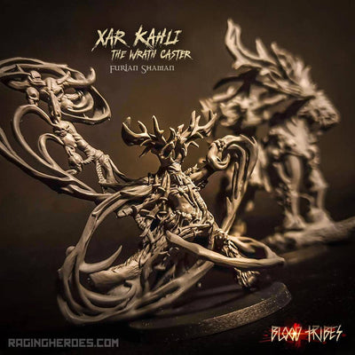 Xar-Kahli the Wrath Caster (BT - F) - Raging Heroes