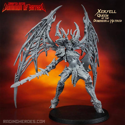 Xeryell, QUEEN of the Dominion of Hatred (CS - F/SF) - Raging Heroes