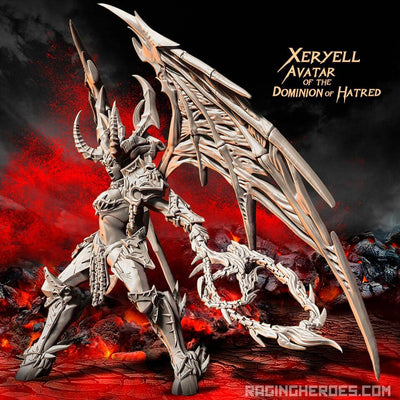 Xeryell, AVATAR of the Dominion of Hatred (CS - F/SF) - Raging Heroes