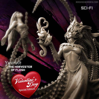 Yscarloth, The Harvester of Flesh, VALENTINE'S DAY Special Edition Sci-Fi version (LE - SF)