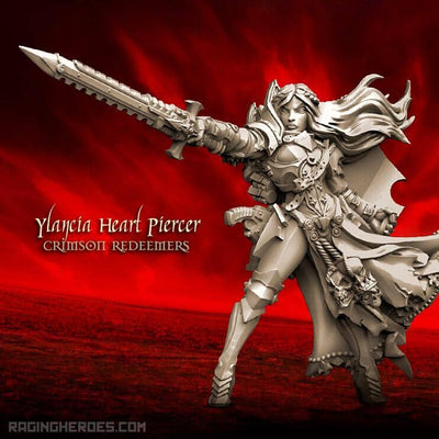 Ylancia Heart Piercer, CR TR (SoEM -SF) - Raging Heroes