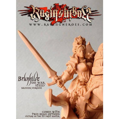 All THREE Brunhilde versions - Raging Heroes