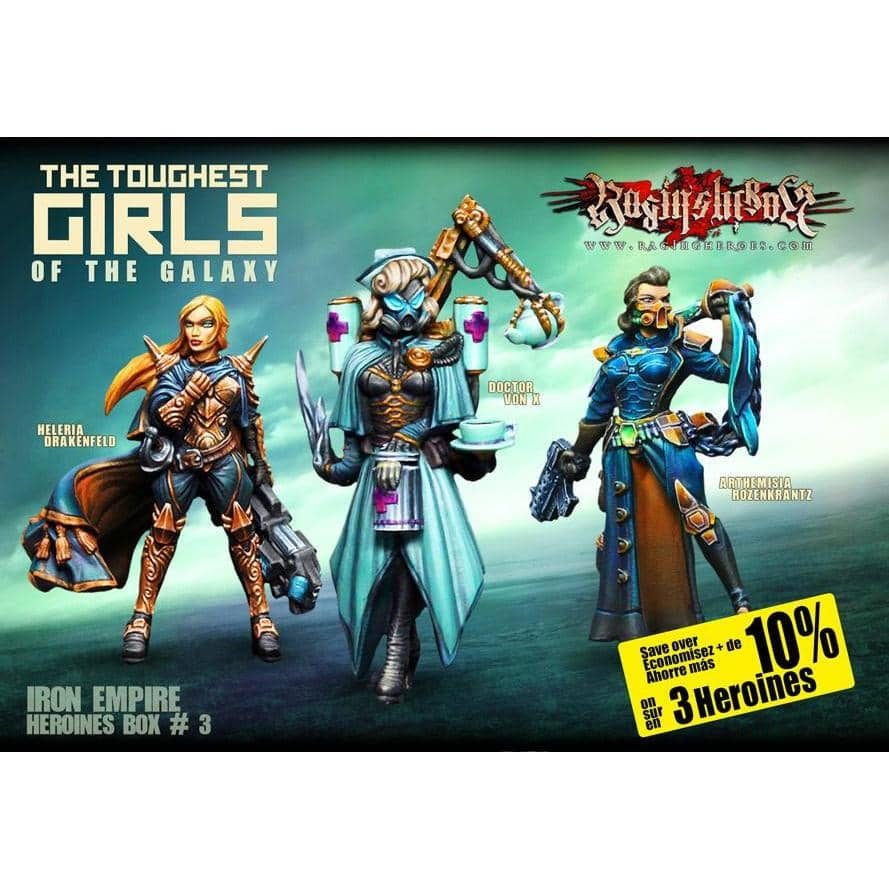 Heroines Box Iron Empire 3 - Raging Heroes
