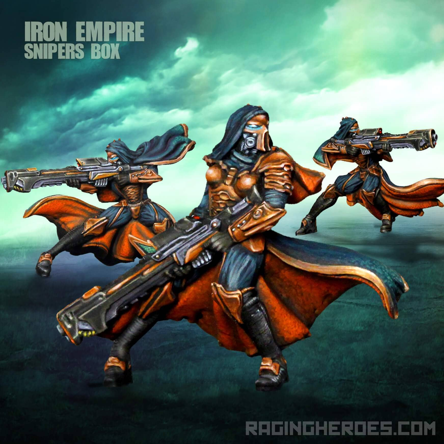 Iron Empire Sniper Unit - Raging Heroes
