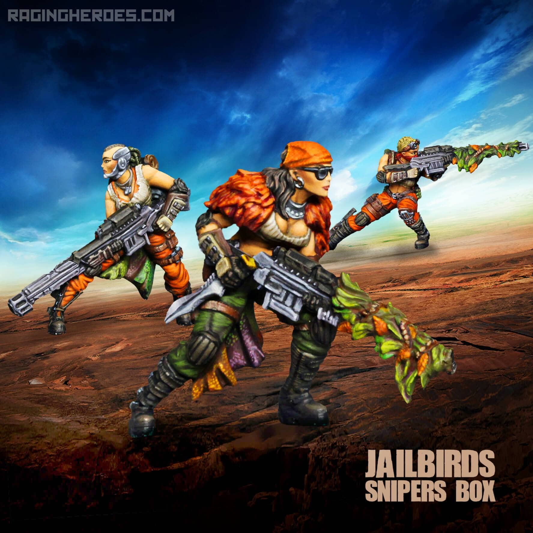 Jailbirds Sniper Unit - Raging Heroes