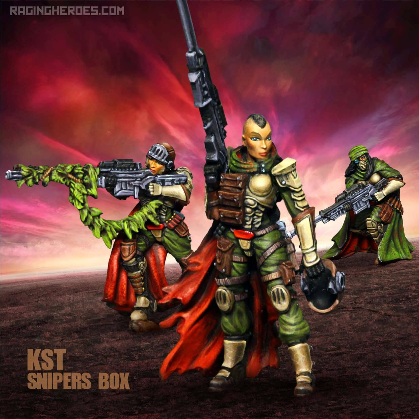 KST Sniper Unit - Raging Heroes