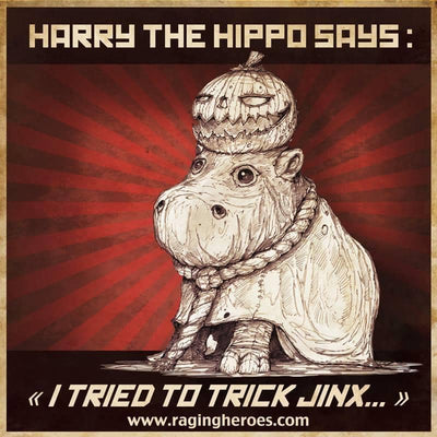 Harry the baby Hippo, JB Mascot