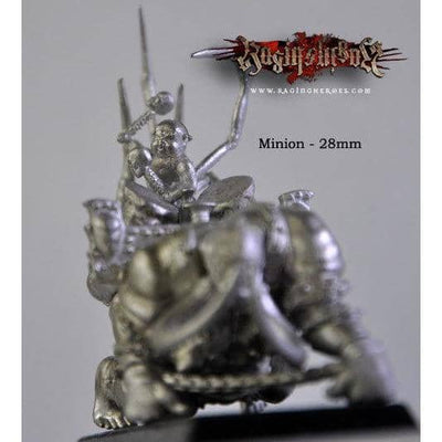 Moloss and Minion (Musician) - Limited Edition - Raging Heroes