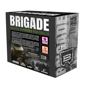 BRIGADE MAGFED Paintballs - 1000ct