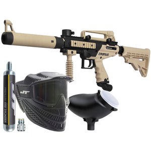 Tippmann Cronus Combat Power Pack - Raptor Mask/90g CO2/Loader/Cronus Tactical Marker