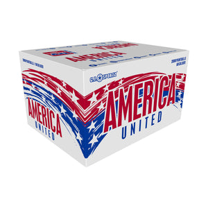 AMERICA UNITED Paintballs - 2000ct