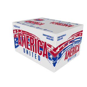 AMERICA UNITED Paintballs - 2000ct -