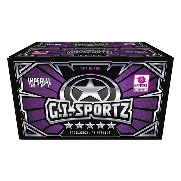 G.I. Sportz 5-STAR Paintballs - 2000ct