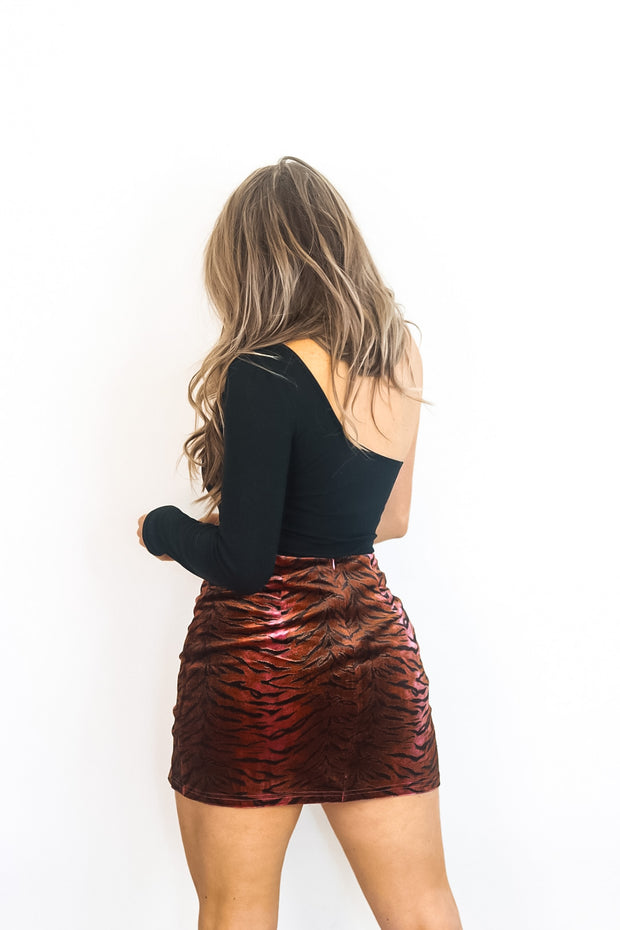 Plum Crazy Skirt