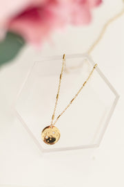 Celestial Round Universe Necklace