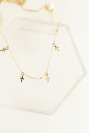 Madi Cross Choker