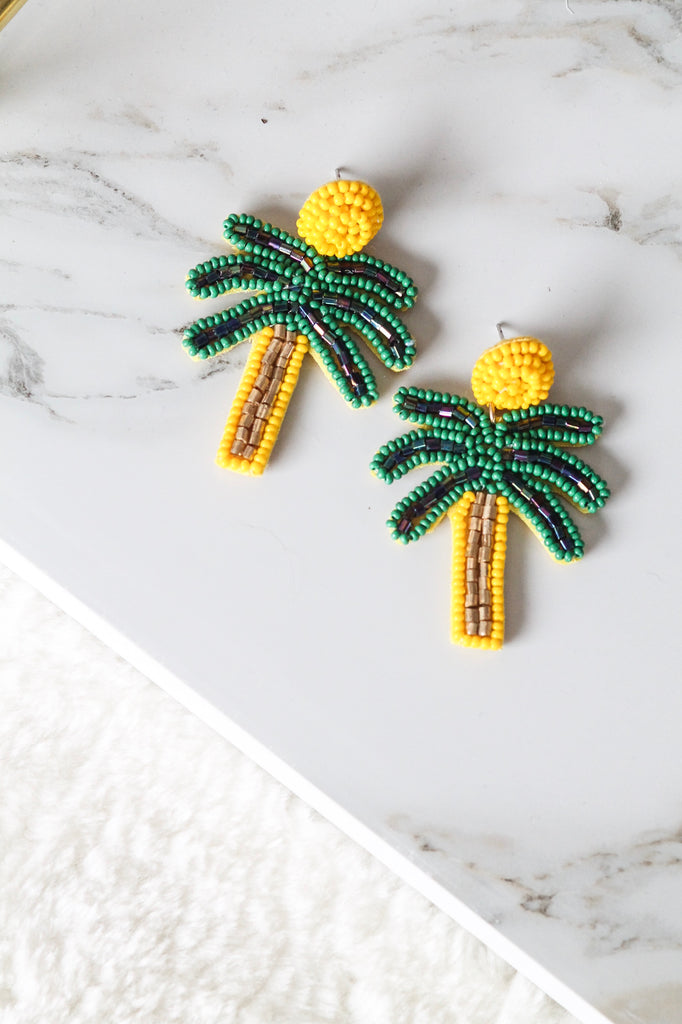 Shake Your Palm Palm Earrings