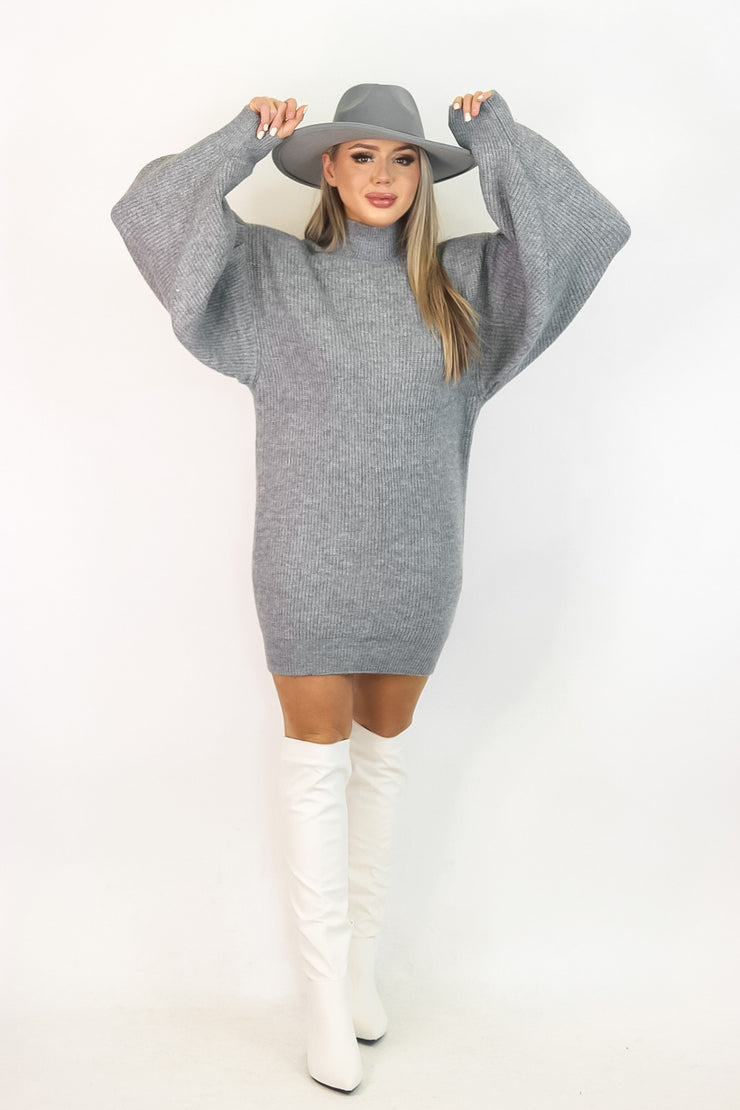 Stop and Stare Sweater Dress