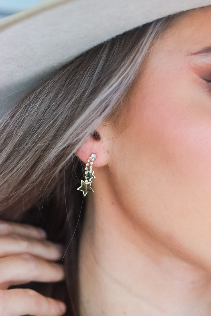Struck Down Earrings