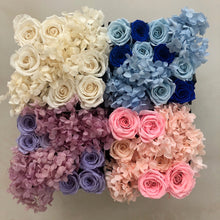 Load image into Gallery viewer, Hydrangea x Roses in Square Signature