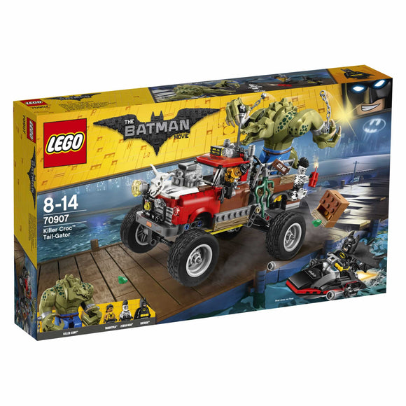 THE LEGOBATMAN MOVIE Killer Croc Tail-Gator 70907