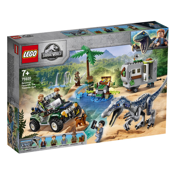 LEGO® Jurassic World™ Baryonyx Face-Off: The Treasure Hunt 75935