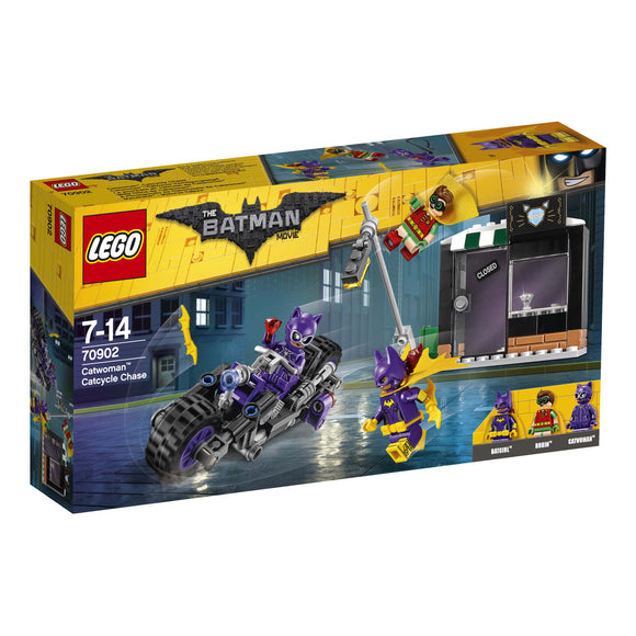 THE LEGO BATMAN MOVIE Catwoman Catcycle Chase 70902