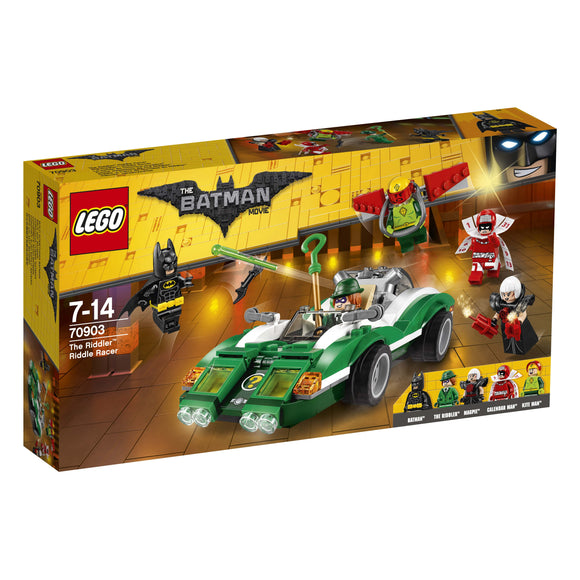 THE LEGO® BATMAN MOVIE The Riddler™ Riddle Racer 70903
