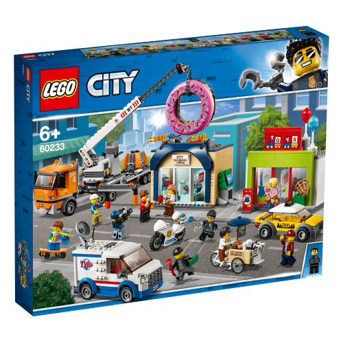 LEGO® City Town Donut shop opening 60233
