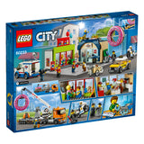 LEGO City Town Donut shop opening 60233