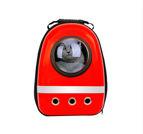 Original Space Backpack for Cats, Dogs, or Puppies - Breathable Astronaut Design