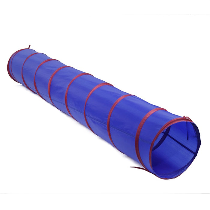 Large Cat Tunnel - Foldable, Indoor/Outdoor Pet Play Tunnel Toy for for Cats, Kittens, Small Dogs, and More