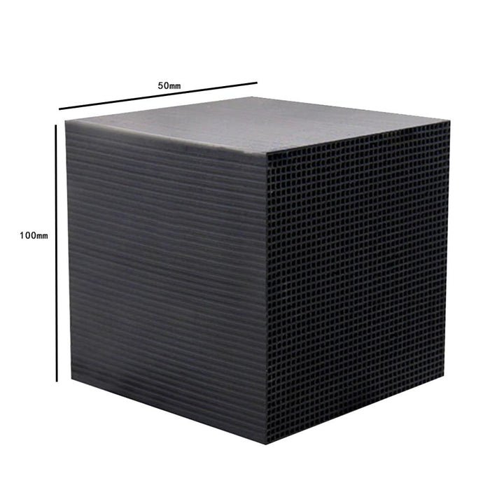2x Carbon Water Filter Cube - Easy Water Purification for Aquariums with Carbon Filter, Strong Absorption
