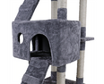 Image of 'All-in-One' Large Cat Tree Condo Set Furniture with Scratching Post, Ladder, Condo and More