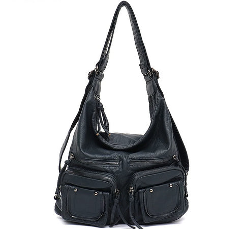 Large, Soft, and Casual Vegan Leather Bag for Women - Messenger, Shoulder Bag Tote Cruelty-free