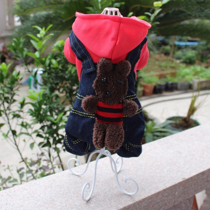 Dog Clothes Hanger - Metal Pet Dog Clothes Display Stand for Home or Pet Supply Stores