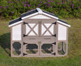 Image of Large Chicken Coop / Hen House - Country Style with Free Shipping Included