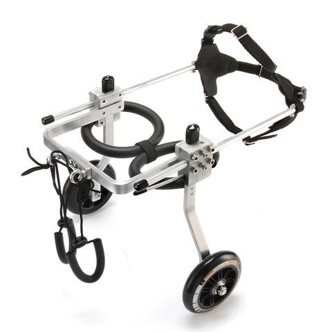 New Dog Wheelchair - Paralyzed Pet Wheelchair/Scooter to Help with Movement and Rehabilitation