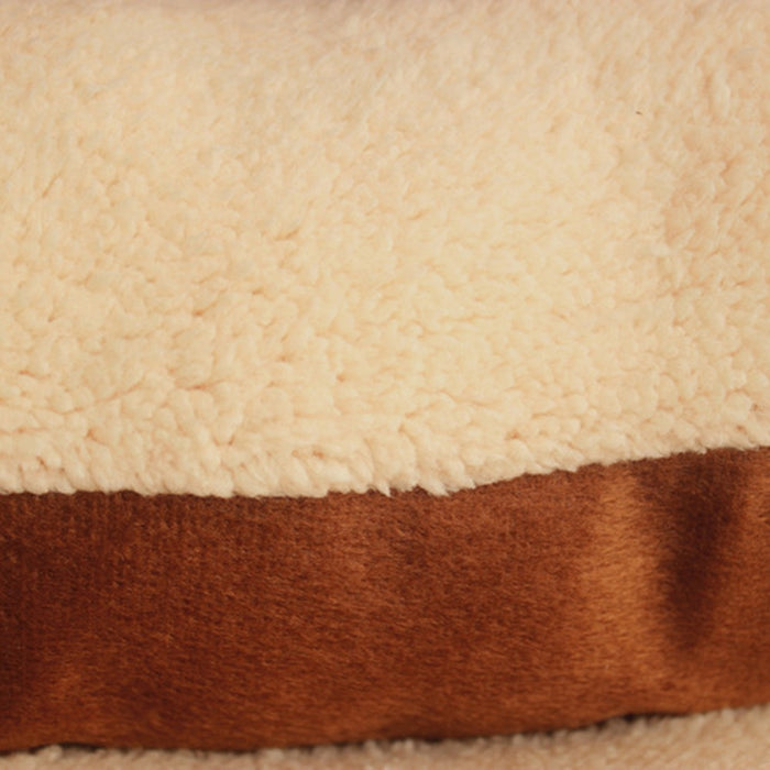 Winter Dog Bed Mat With Thick Cushion and Fleece - Small or Large Size