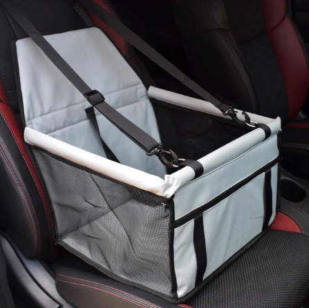 Stylish and Secure Dog Booster Seat - Waterproof with Safety Belt in 7 Different Styles