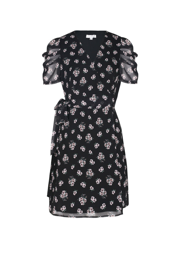 Lidia Wrap Dress- Lidia Floral