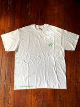"Load image into Gallery viewer, White/Green ""SE"" V2 Tee"
