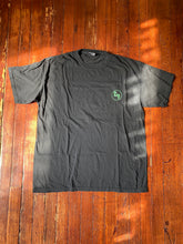 Load image into Gallery viewer, Black/Green Circle Logo Tee