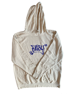 Purple Slate Graffiti Hoodie X-Large
